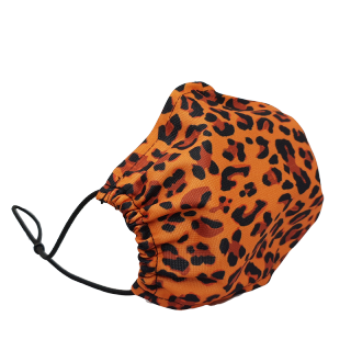 Behelfsmaske leopard