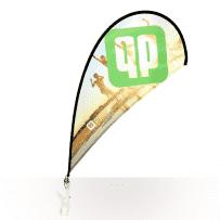 Clip-Beachflag
